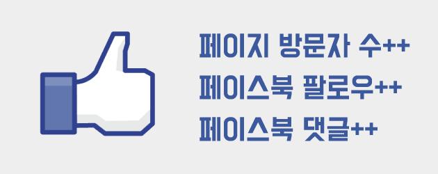 페이스북방문자수/페이스북팔로우/페이스북댓글올리기