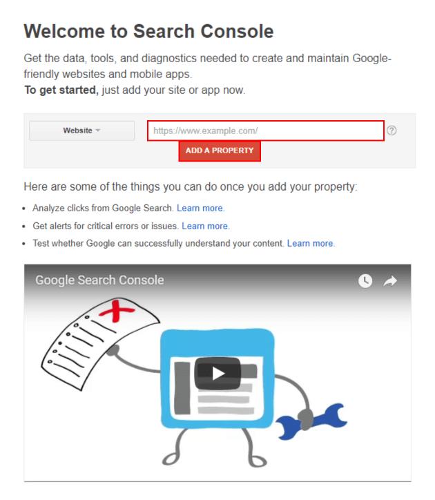 구글 서치 콘솔 가이드