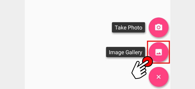이미지 갤러리 버튼 선택하기