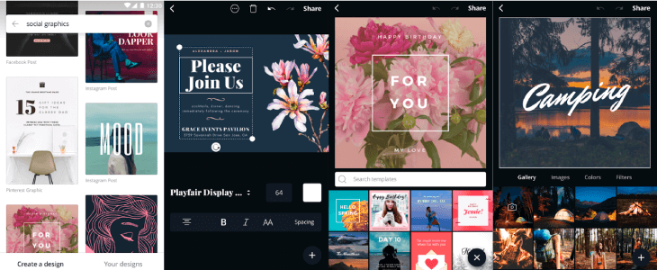 Canva Collage Template