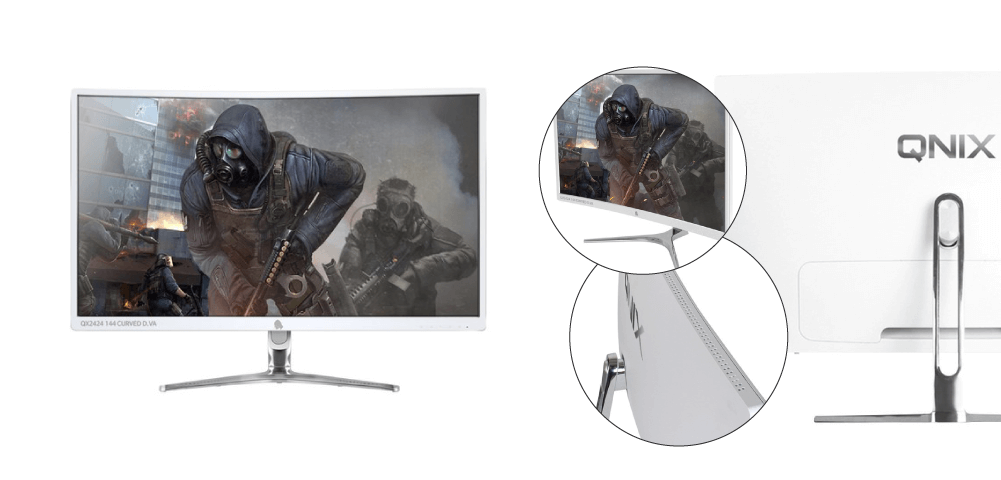 3) 큐닉스 24형 Full-HD 게이밍 무결점 모니터