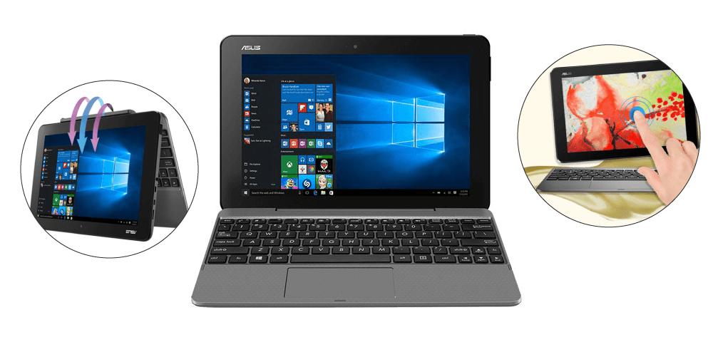 에이수스 2 in 1 노트북 T101HA-GR030T