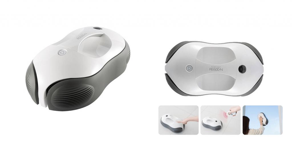 에브리봇 물걸레 로봇청소기 미드나잇 그레이 RS500N